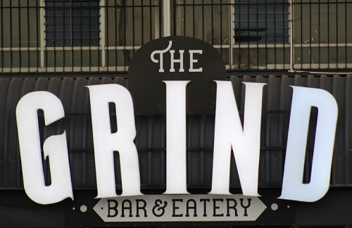 The Grind radio opens own bar and eatery