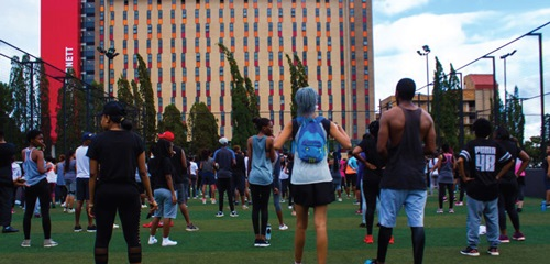The Move4Fitness movement