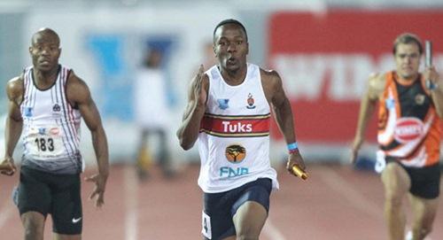 Running toward a dream: Akani Simbine