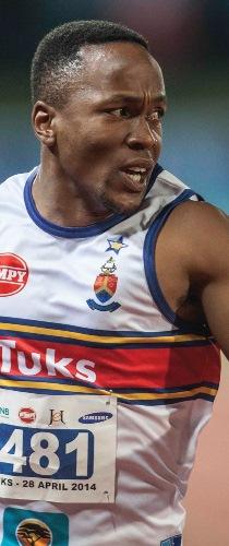 Akani Simbine: South African Olympic hopeful