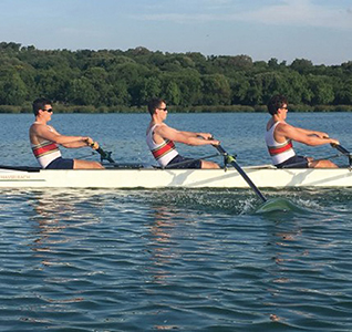 Brittain brothers row in another win