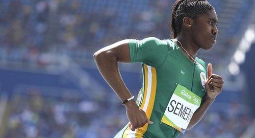 Caster Semenya chooses gold over critics