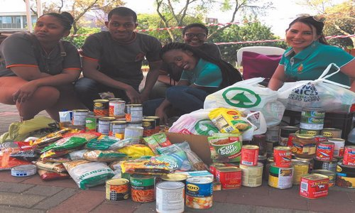 SRC joins forces to combat campus hunger