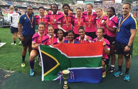 SA sevens shine internationally
