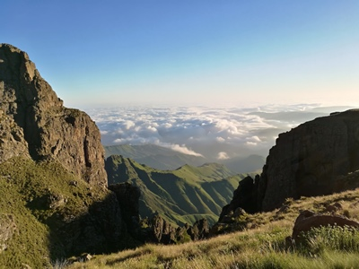 Perdeby Experience: Keep your head in the clouds, hiking the Mweni Pass.