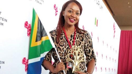 UP student represents SA at Next Einstein Forum