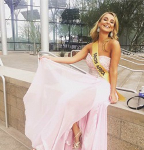 Miss Grand South Africa represents SA in Vegas