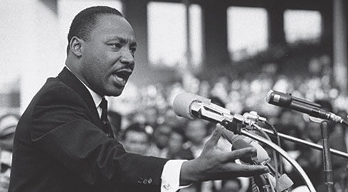 The speech that changed the world