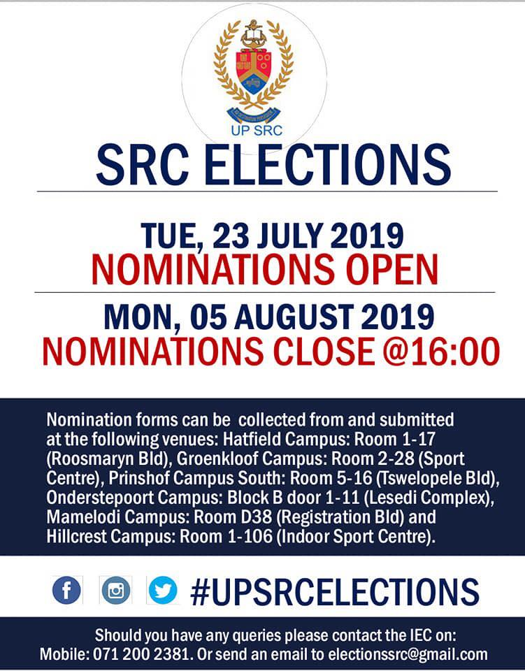 2019 SRC election season opens