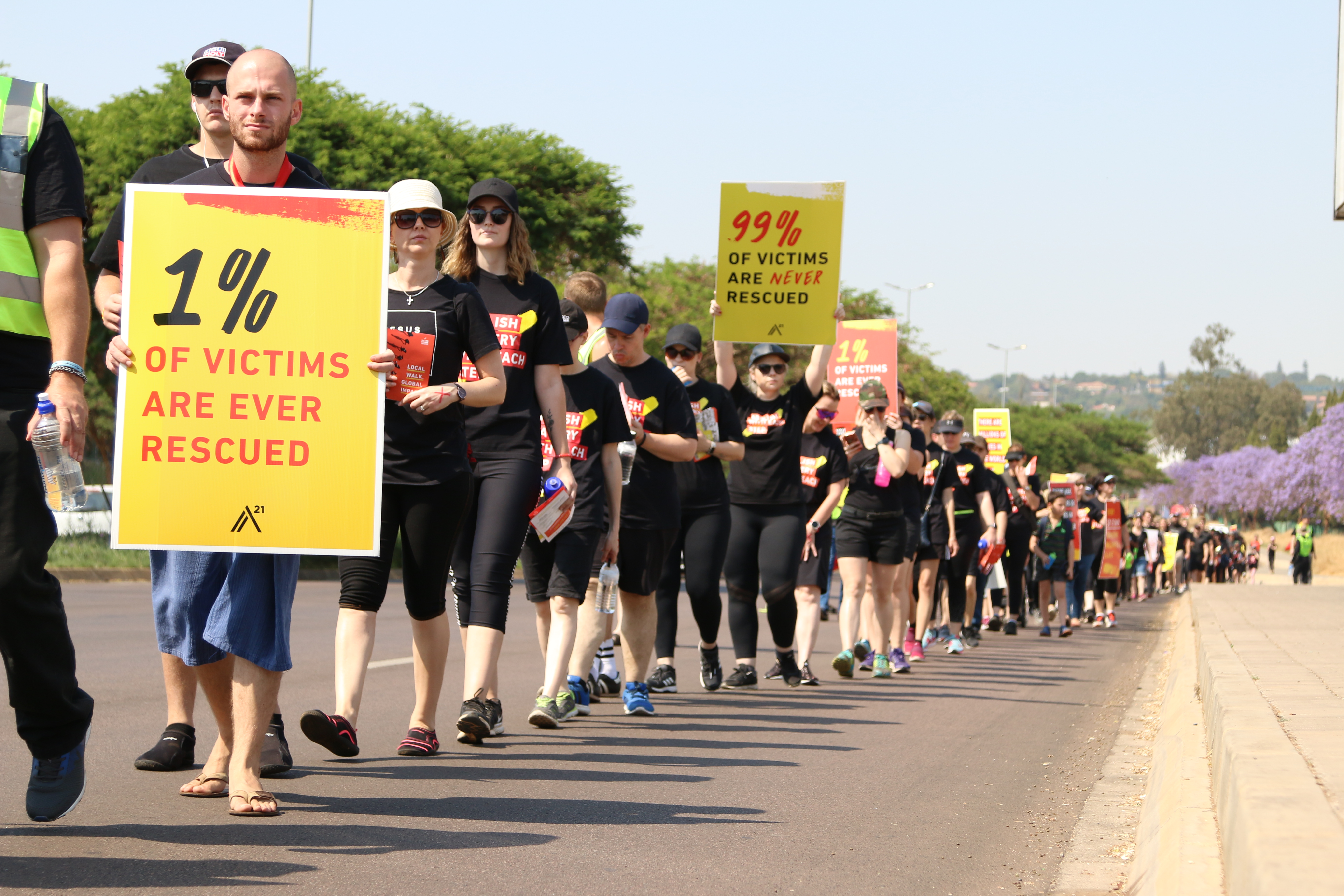 Walk for Freedom with A21