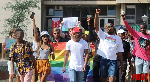"""""""We are queer, we are here, and we have no fear"""""""