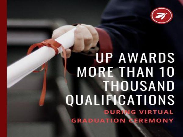 UP holds virtual graduation ceremony