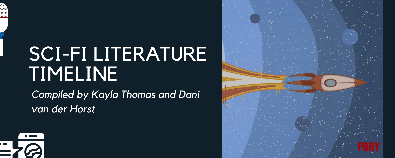 Sci Fi literature timeline