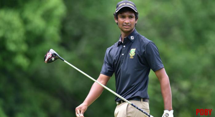 Tuks Golfer Dylan Naidoo ranked in the order of Merit Rankings