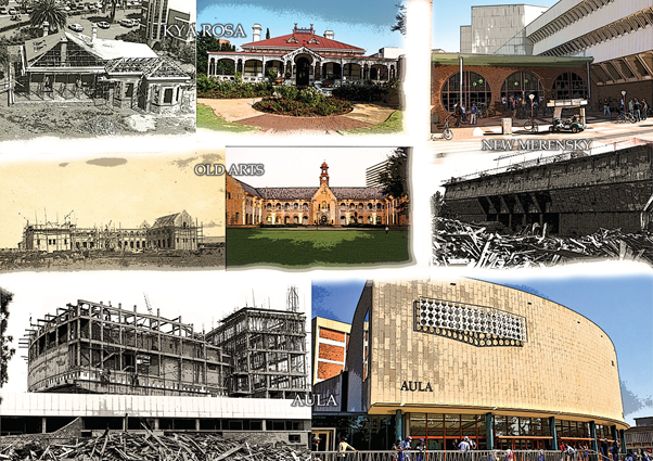 A brief architectural history of UP